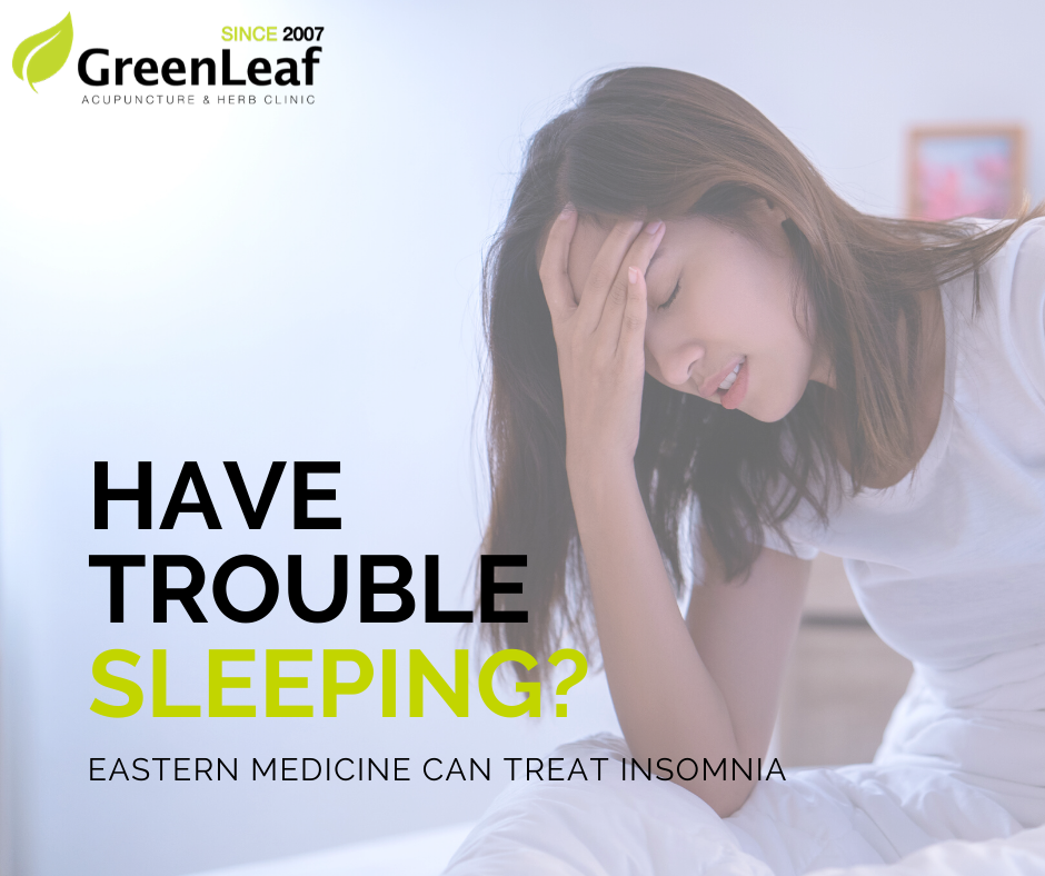 eastern medicine treat insomnia