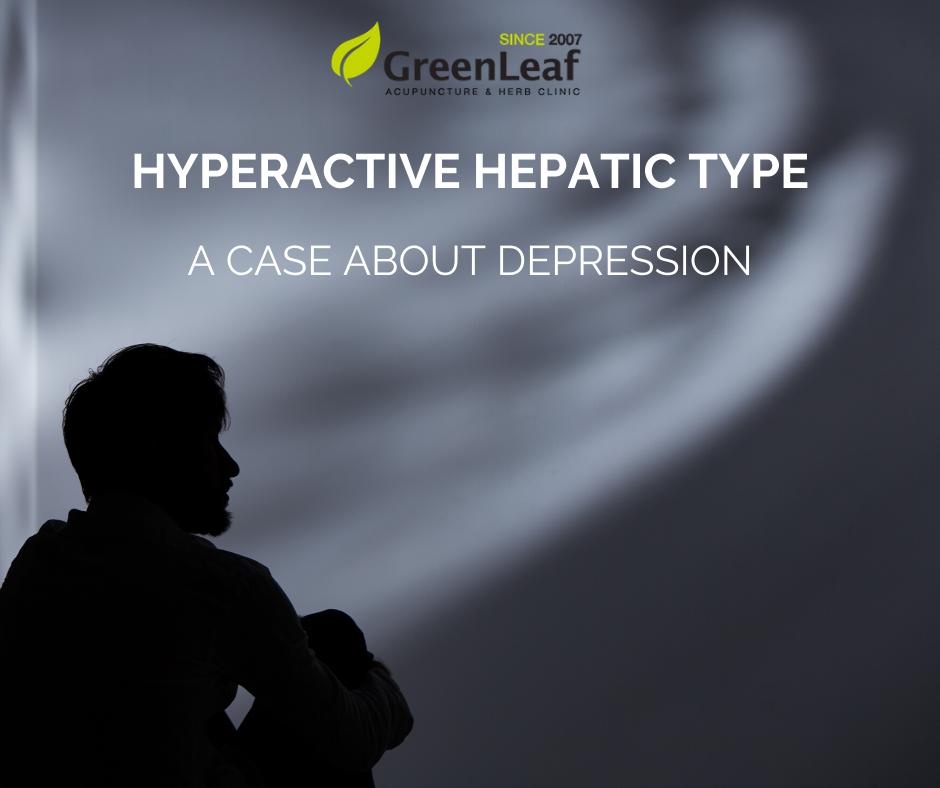 hyper-metabolism of liver