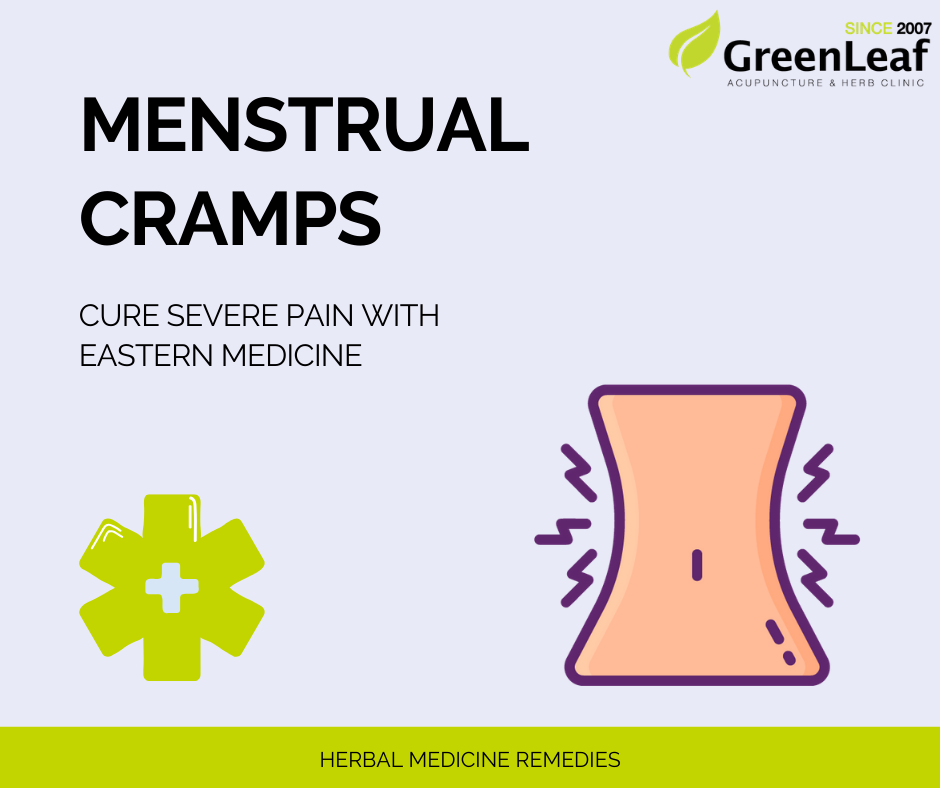 Greenleaf Clinic Menstrual Cramp Herbal Medicine Remedies