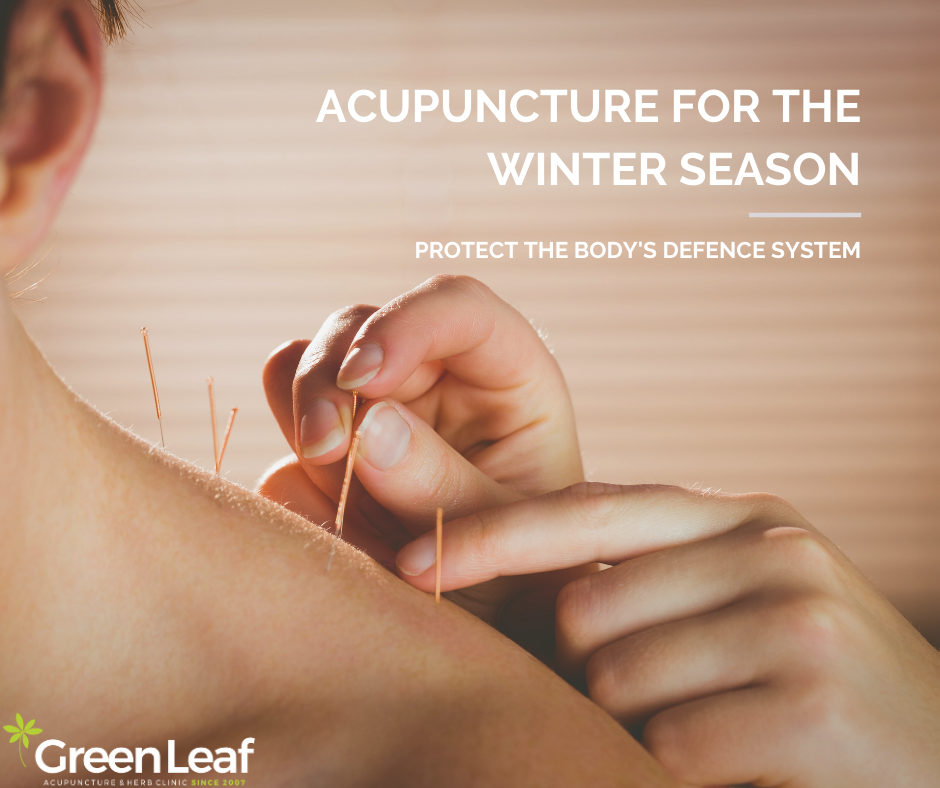 Acupuncture, winter, TCM, Greenleaf Clinic and Acupuncture